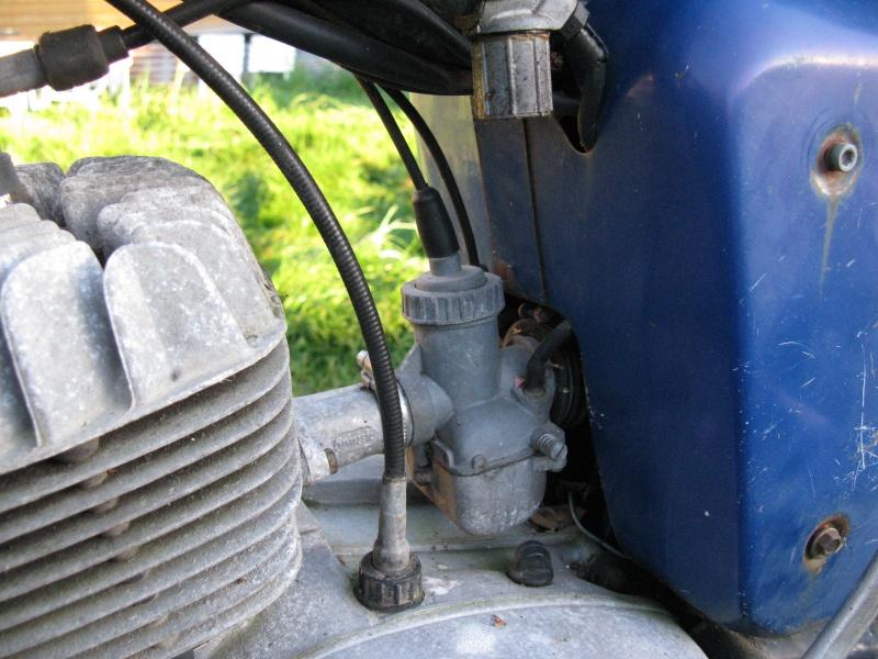 Une nouvelle à la maison : une 125 TS moteur bloqué  Img_4711