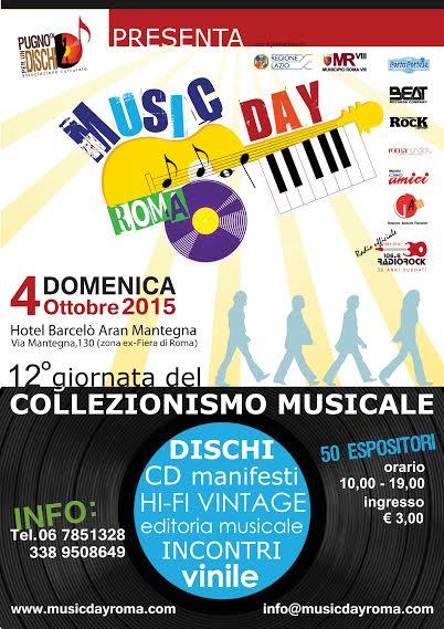 Music Day Roma domenica 4 ottobre 2015 Locand10