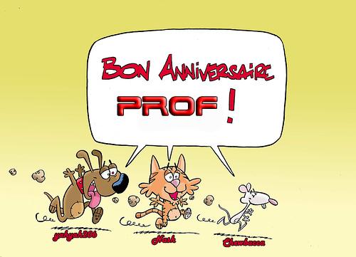 Bon Anniversaire Prof ! 13529610