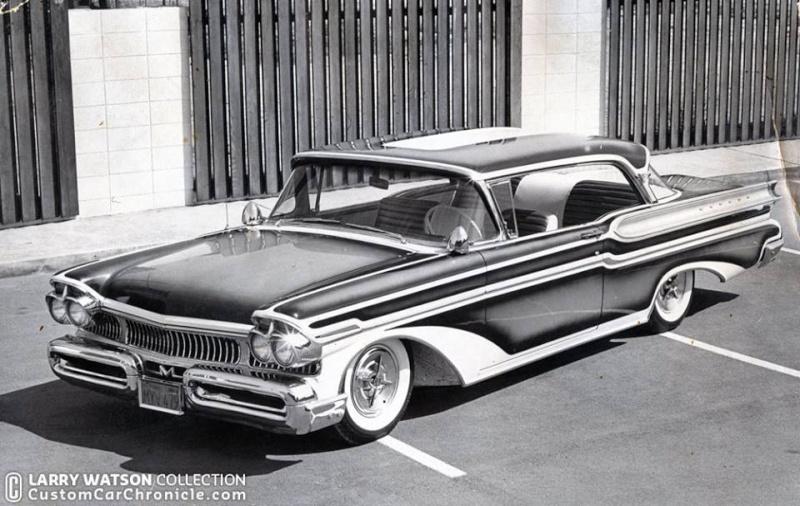 Mercury 1957 - 1960 Customs & mild custom 11010510