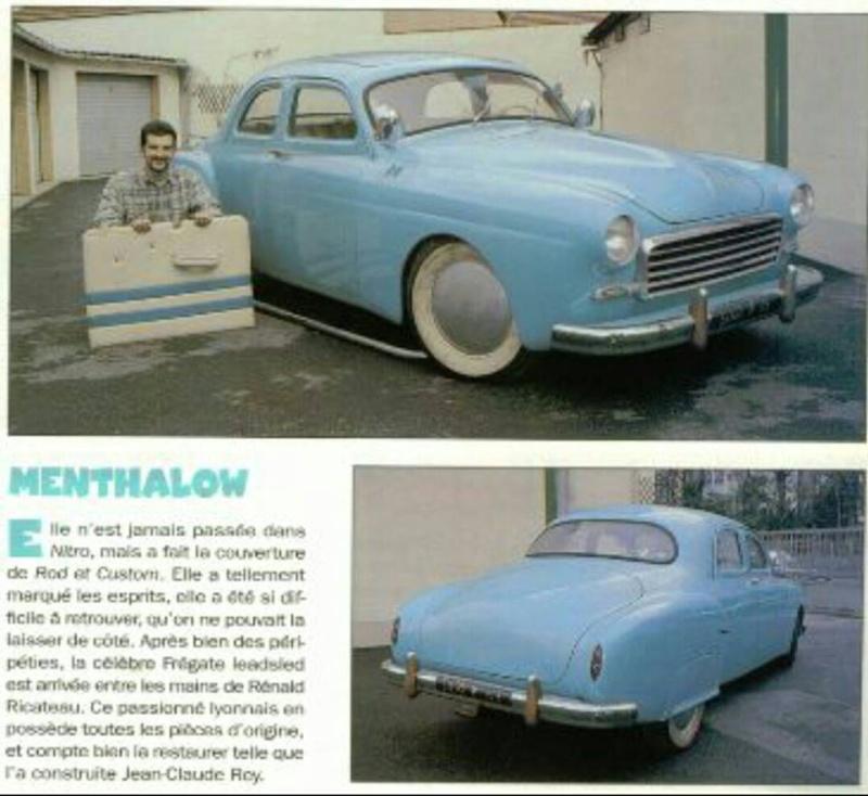 1954 Renault Fregate - Menth' A Low 11124910