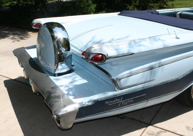 Oldsmobile 1958 - 1960 custom & mild custom 1115