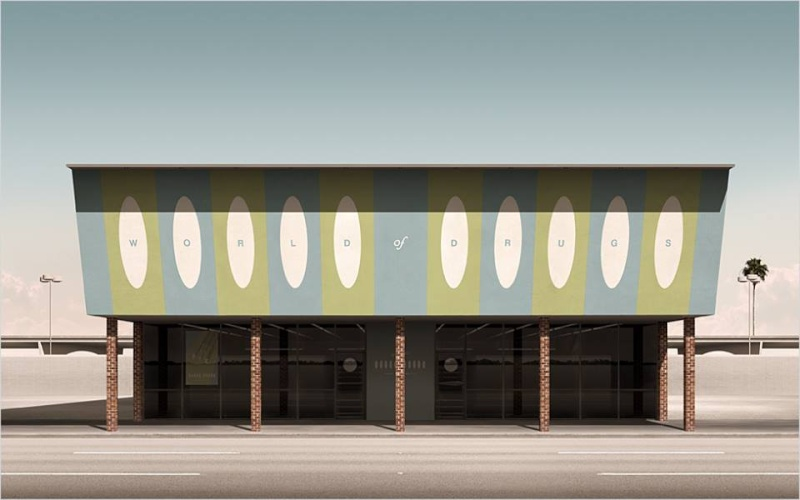 3D Architecture Googie - Geebird&Bamby   11151010