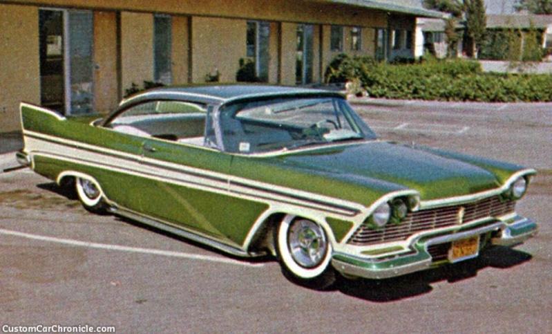 Plymouth  1957 - 1958 custom & mild custom - Page 2 11218810