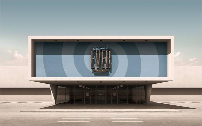 3D Architecture Googie - Geebird&Bamby   11990610