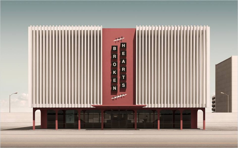 3D Architecture Googie - Geebird&Bamby   11998910