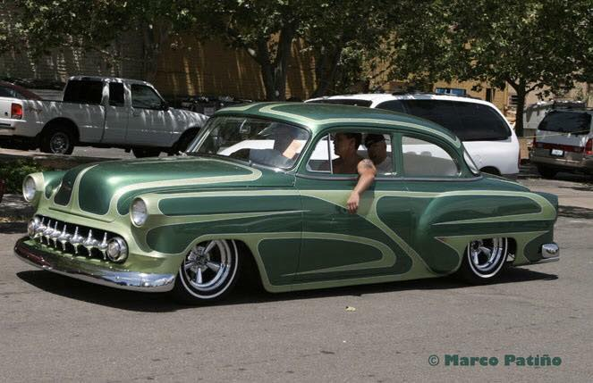 Chevy 1953 - 1954 custom & mild custom galerie - Page 11 12075010