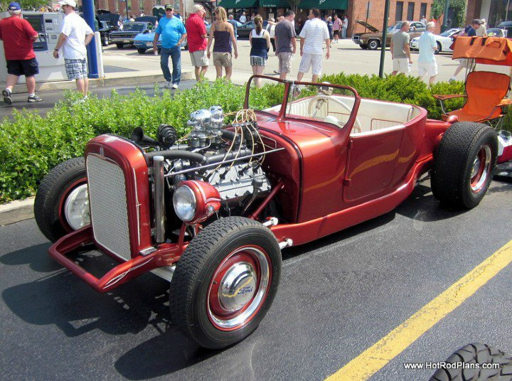 Ford T hot rod (1908 - 1927) - T rod - Page 6 122