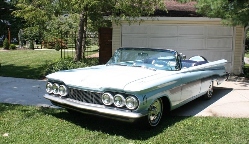 Oldsmobile 1958 - 1960 custom & mild custom 133