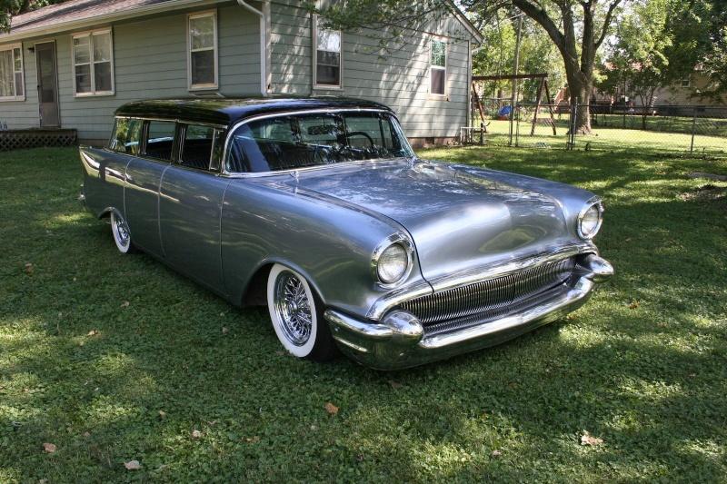 Chevy 1957 custom & mild custom - Page 3 151