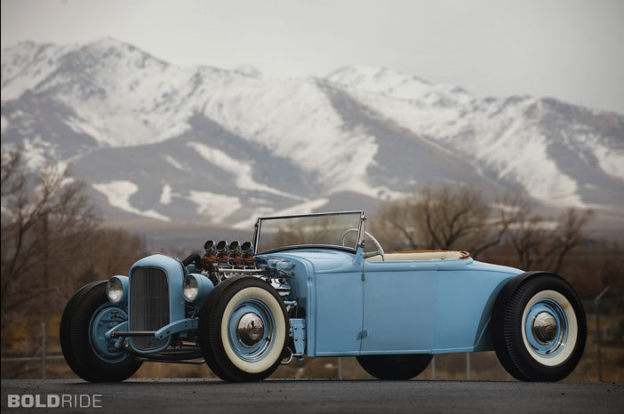 1930 Ford Model A Roadster - Sonny Mazza 152