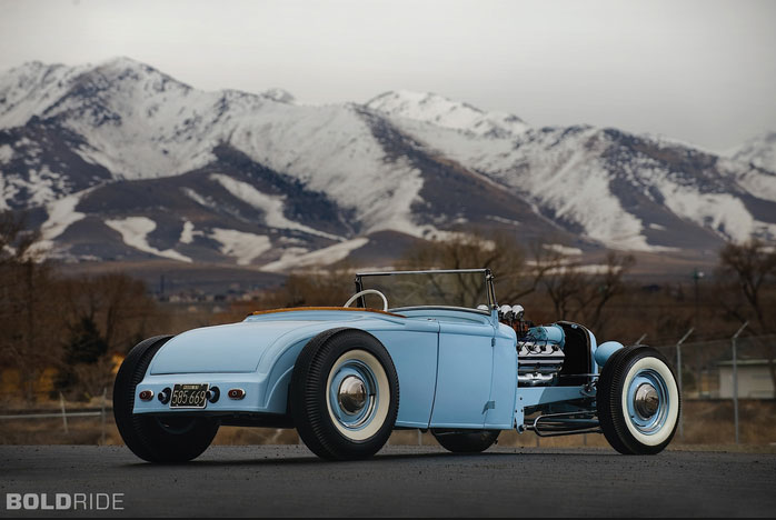 1930 Ford Model A Roadster - Sonny Mazza 251
