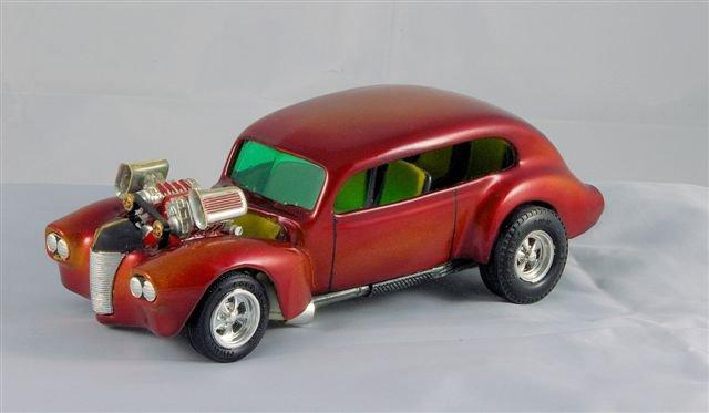 Vintage built automobile model kit survivor - Hot rod et Custom car maquettes montées anciennes - Page 2 41358_10