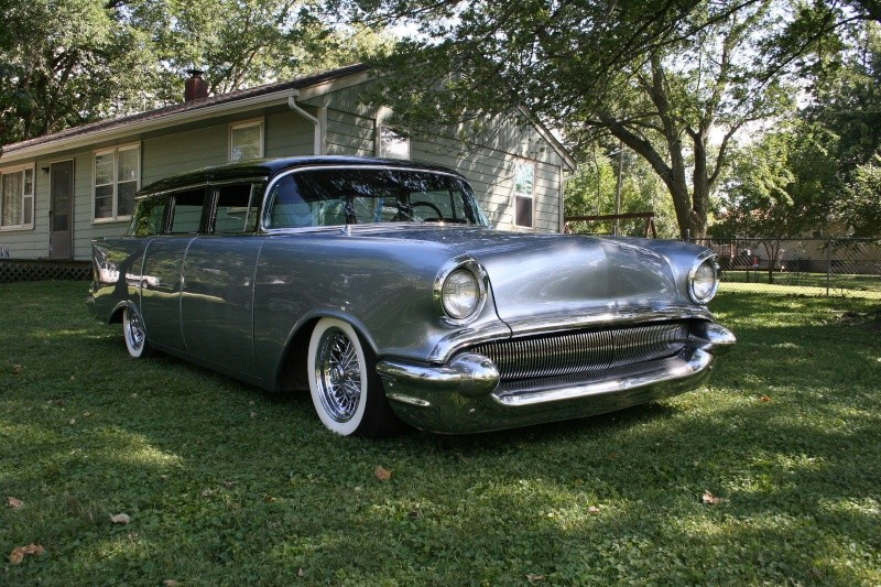 Chevy 1957 custom & mild custom - Page 3 445