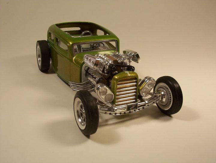 Vintage built automobile model kit survivor - Hot rod et Custom car maquettes montées anciennes - Page 2 58290_10