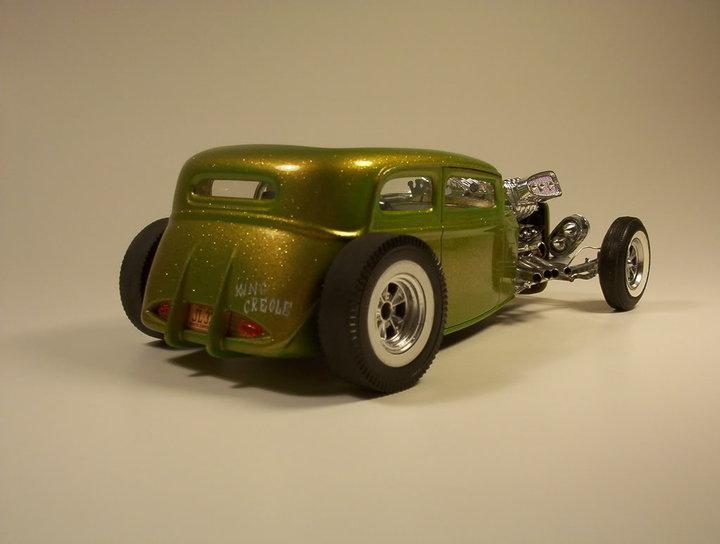 Vintage built automobile model kit survivor - Hot rod et Custom car maquettes montées anciennes - Page 2 58573_10