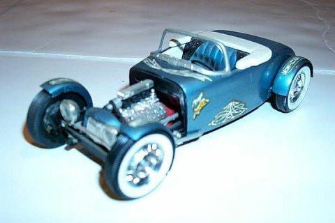 Vintage built automobile model kit survivor - Hot rod et Custom car maquettes montées anciennes - Page 2 58974_11