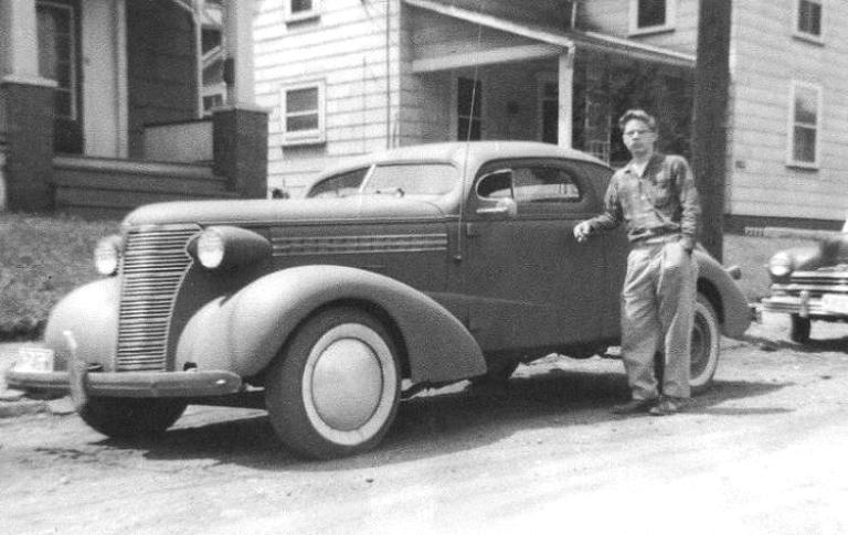Chevrolet 1936 - 39 custom & mild custom _38cus10