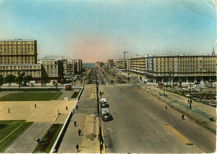 Le Havre - Ville 1950s Avenue10