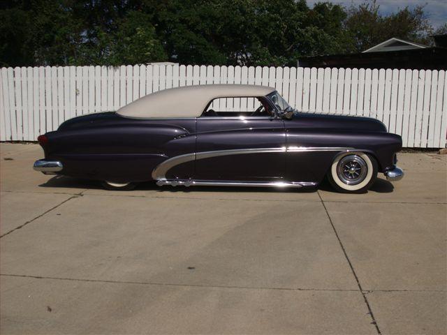 1951 Buick - Ray Bozarth - Plum Wild - Merle Berg Cars0510