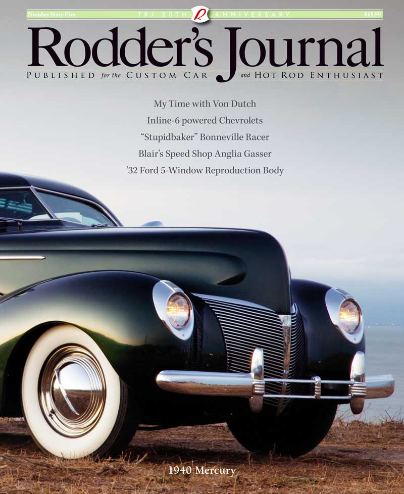 1940 Mercury - Kevan Sledge Covers10