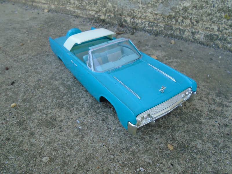 1961  Lincoln Convertible - Customizing kit - 3 in 1 - Amt - Dsc00116