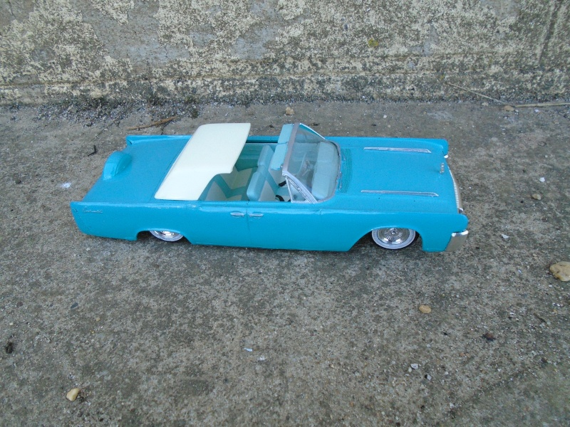 1961  Lincoln Convertible - Customizing kit - 3 in 1 - Amt - Dsc00118
