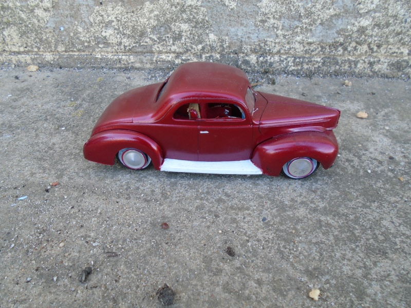 1939 - 40 Ford Coupe - Trophy series - amt - 1/24 scale  Dsc00143