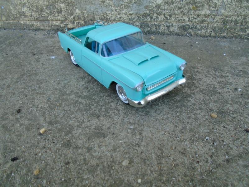 1955 Chevrolet Nomad  - Trophie series - customizing kit - Amt - Dsc00210