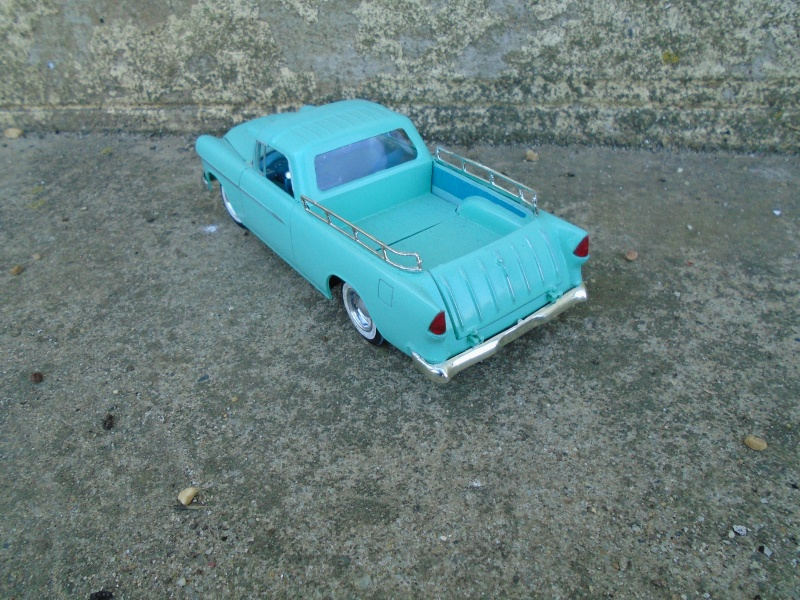 1955 Chevrolet Nomad  - Trophie series - customizing kit - Amt - Dsc00211
