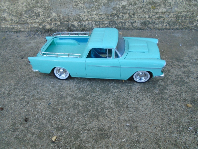 1955 Chevrolet Nomad  - Trophie series - customizing kit - Amt - Dsc00212