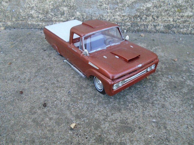 1962 Ford F100 pick up - Customizing kit 3 in 1 - Amt -  Dsc00216
