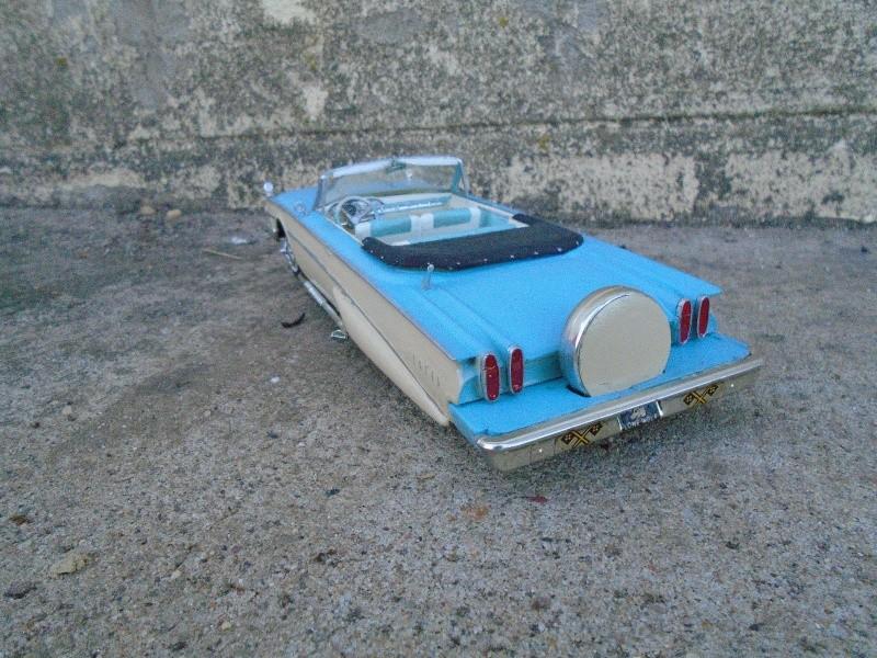 1960 Edsel convertible - AMT / SMP - customizing kit - 1/25 scale Dsc00223