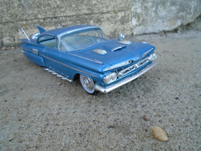 1959 Chevy impala coupe - customizing kit - amt Dsc00225