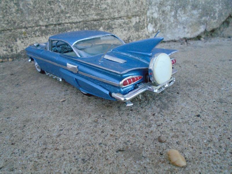 1959 Chevy impala coupe - customizing kit - amt Dsc00226