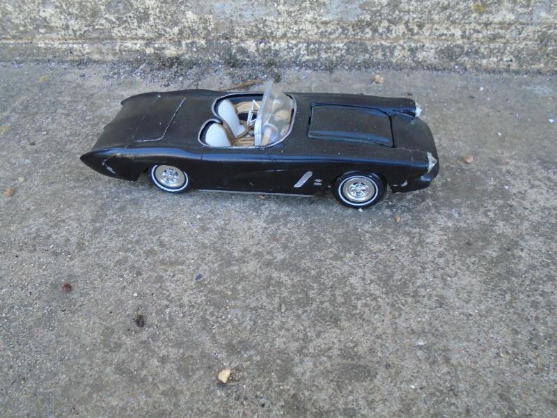 1962 Chevrolet Corvette - Customizing kit - Amt Dsc00233