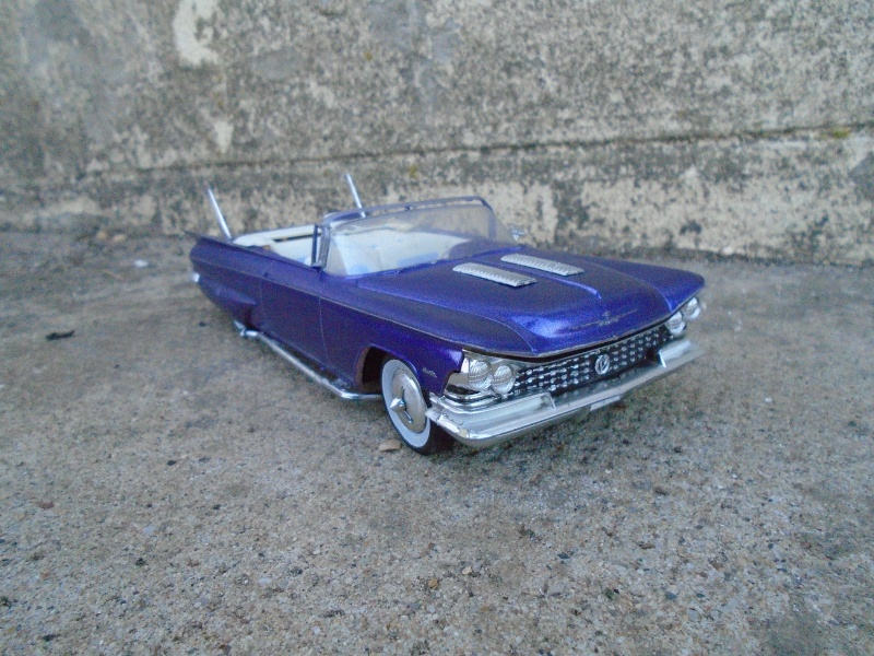 1959 Buick convertible - Customizing kit - Amt/smp - 1/25 scale Dsc00234
