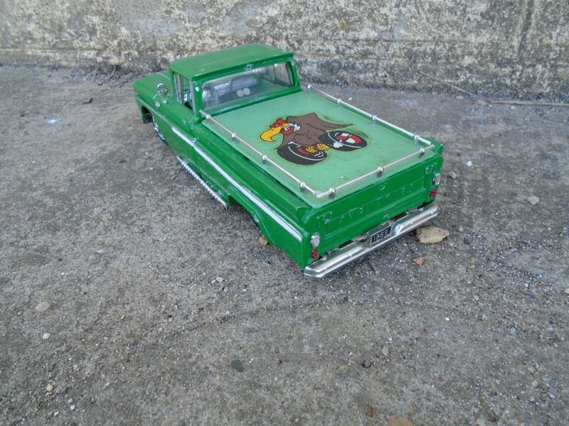 1962 Chevy Pick up - Customizing kit - Amt Dsc00244