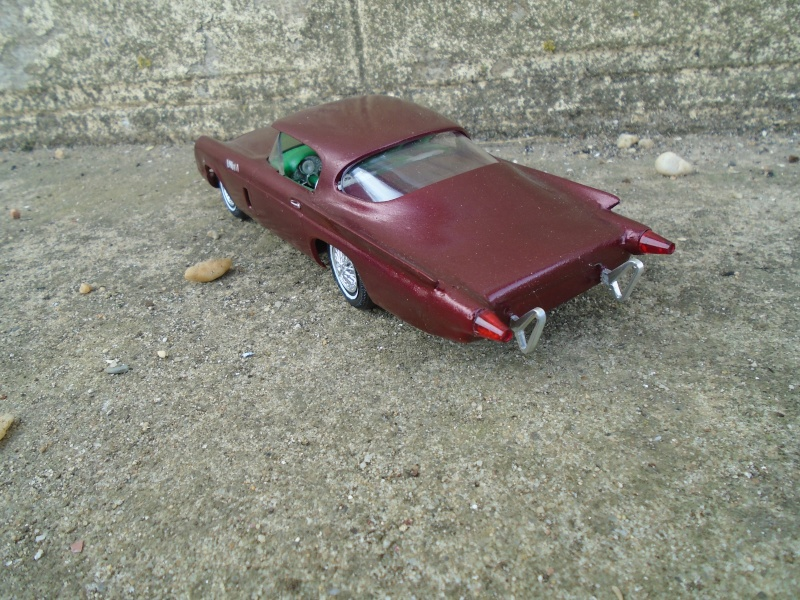 1957 Ford Thunderbird - Customizing kit  - Trophie Series - amt - 1/25 scale Dsc00313