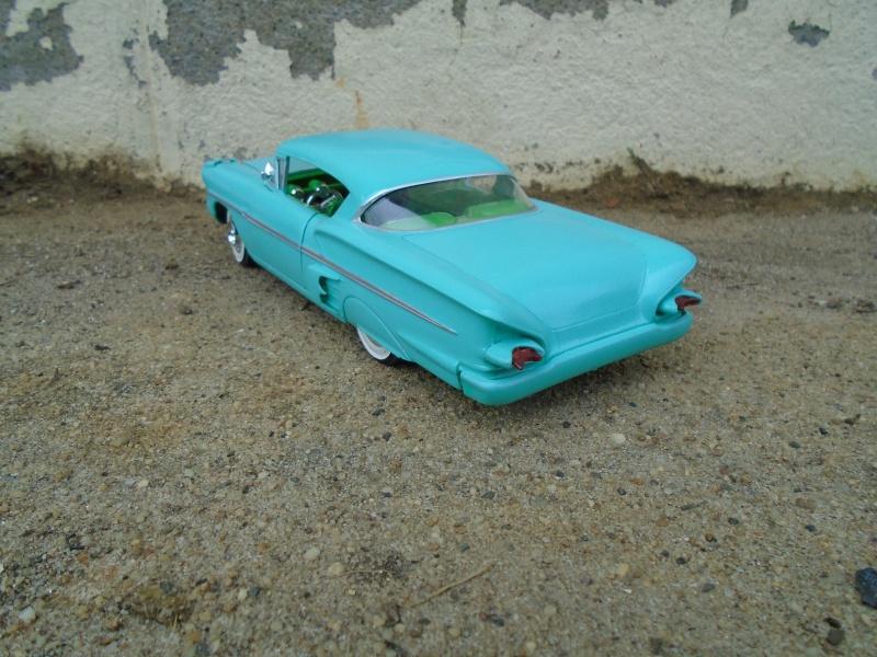1958 Chevrolet Impala - Customizing kit - Trophie series - Amt - 1/25 scale Dsc00335
