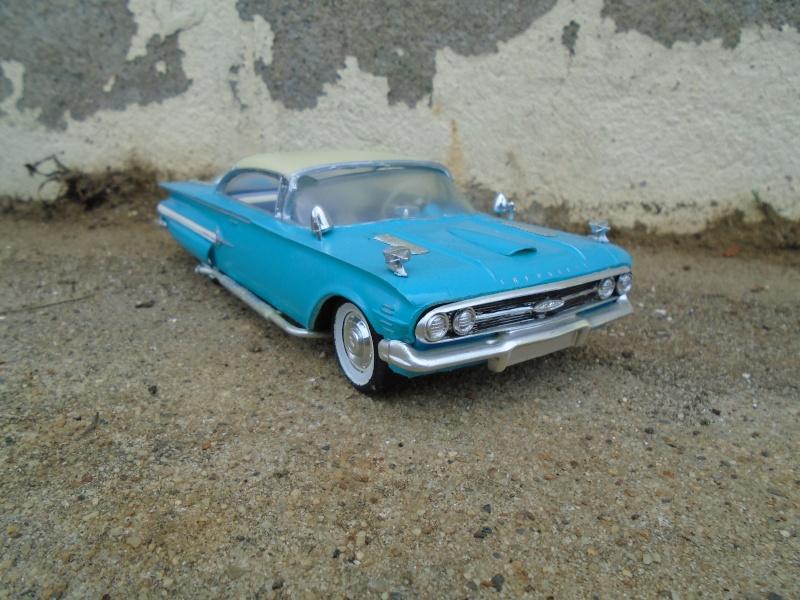 1960 Chevrolet Impala coupe - customizing kit - Amt - 1/25 scale Dsc00349