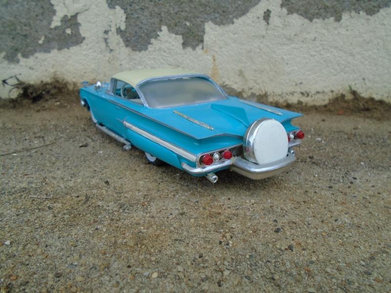 1960 Chevrolet Impala coupe - customizing kit - Amt - 1/25 scale Dsc00350