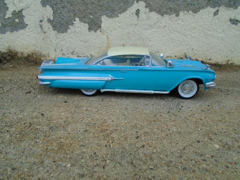 1960 Chevrolet Impala coupe - customizing kit - Amt - 1/25 scale Dsc00351