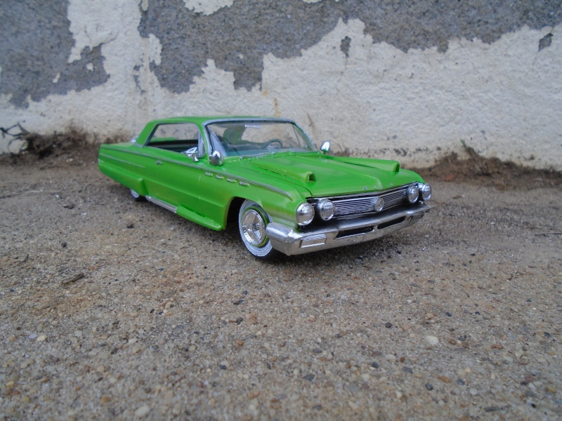 1962 Buick Electra coupe - customizing kit - Amt - 1/25 scale Dsc00352