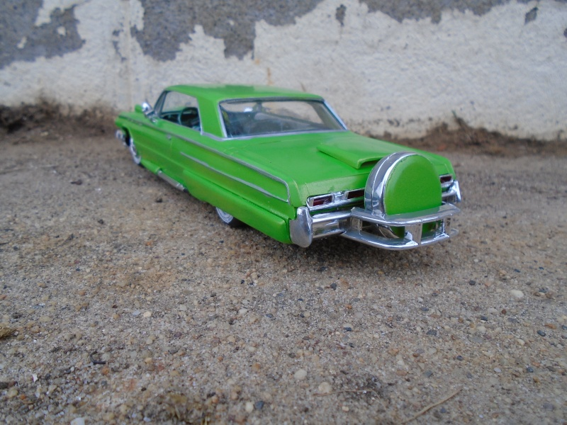 1962 Buick Electra coupe - customizing kit - Amt - 1/25 scale Dsc00353