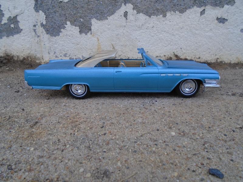 1963 Buick convertible - customizing kit - Amt - 1/25 scale Dsc00357