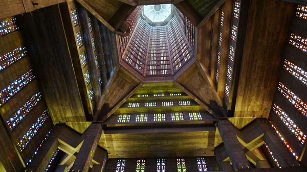 Le Havre - Ville 1950s Eglise10