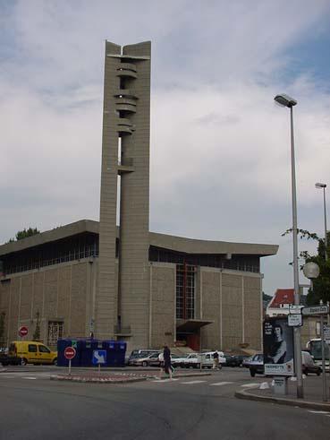 Le Havre - Ville 1950s Eglise12