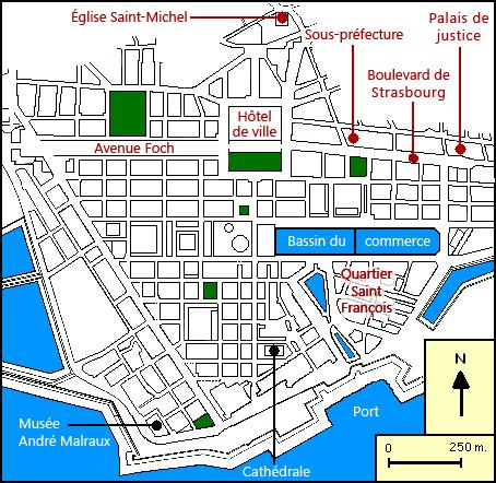 Le Havre - Ville 1950s Plan_d10