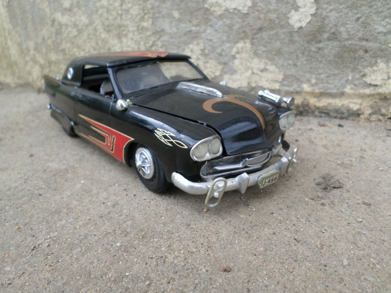 1950 Ford Convertible - customizing kit - trophie series - amt Sam_2510